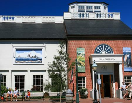 nantucket whaling museum from the exterior