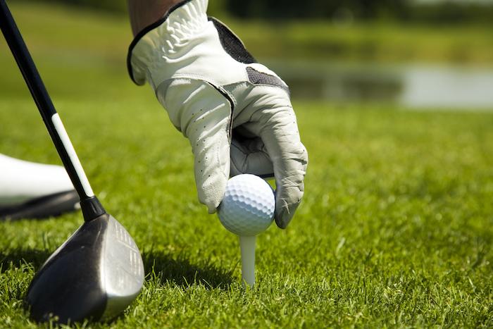 golf ball player